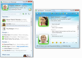 Windows live messenger (windows) download.