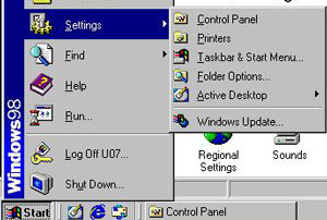 How to Print from Windows 98 to Network Attached Printer