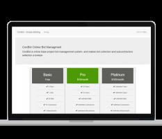 Conbid – Web App