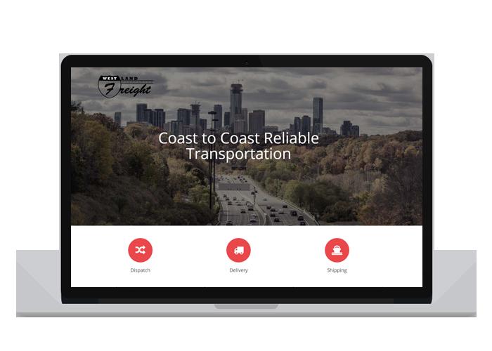 Westland Freight Website